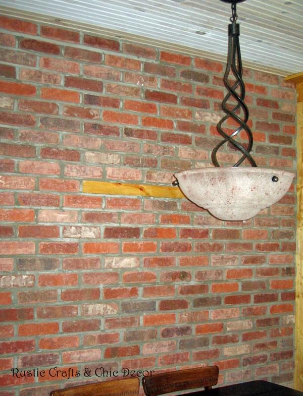 Rustic Crafts Brick Wall