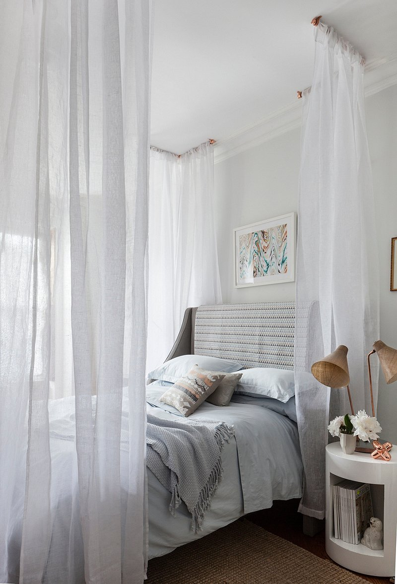 One Kings Lane DIY Canopy Bed