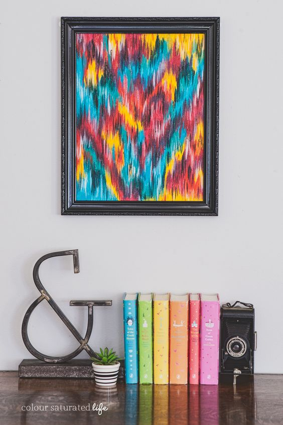 Colour Saturated Life Wall Art
