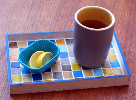 Design Sponge Mosaic Tray