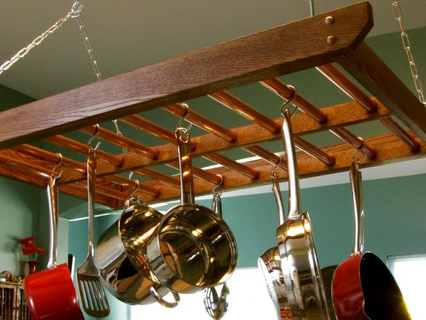 DIY Network Hanging Rack