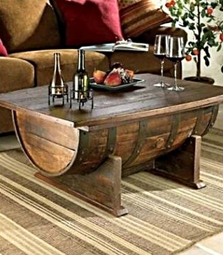Praktic Ideas DIY Barrel Table
