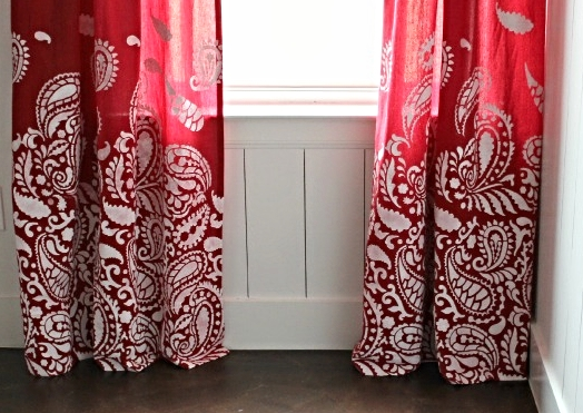 DomesticImperfection Curtain