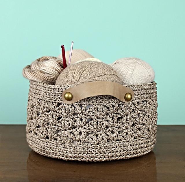 Ravelry DIY Basket