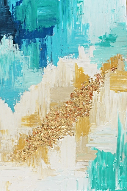 LollyJane DIY Abstract Art