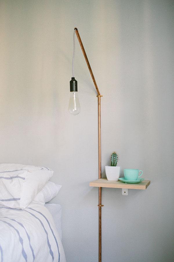 Elle DIY Bedside Lamp
