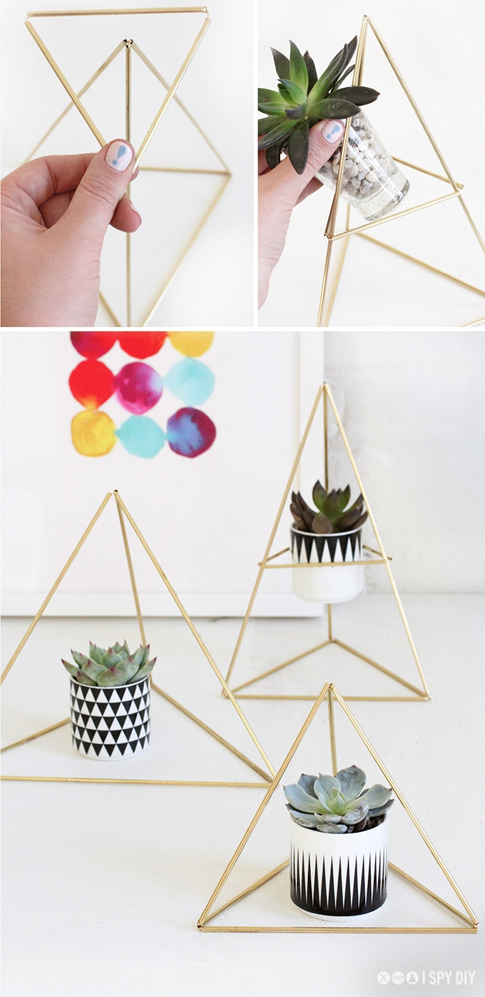 I Spy DIY Geometric Accent