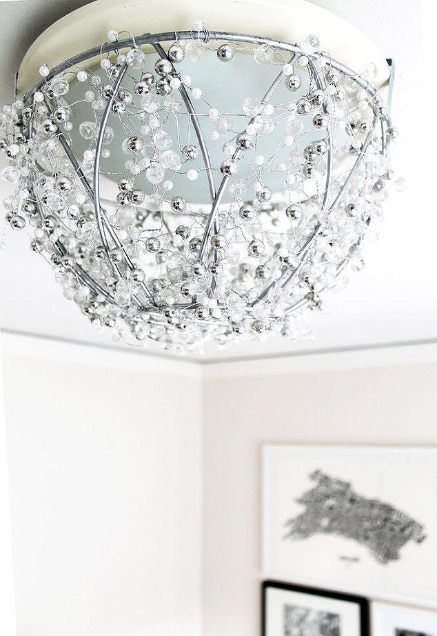 HomeTalk DIY Chandelier