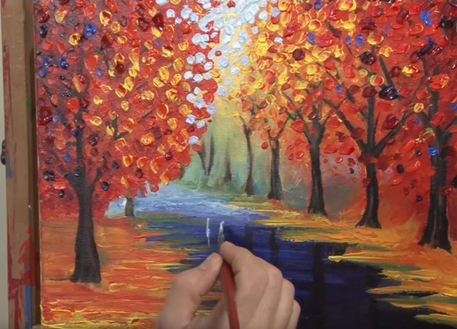 YouTube DIY Oil Painting