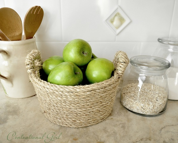 CentsationalGirl DIY Rope Bowl
