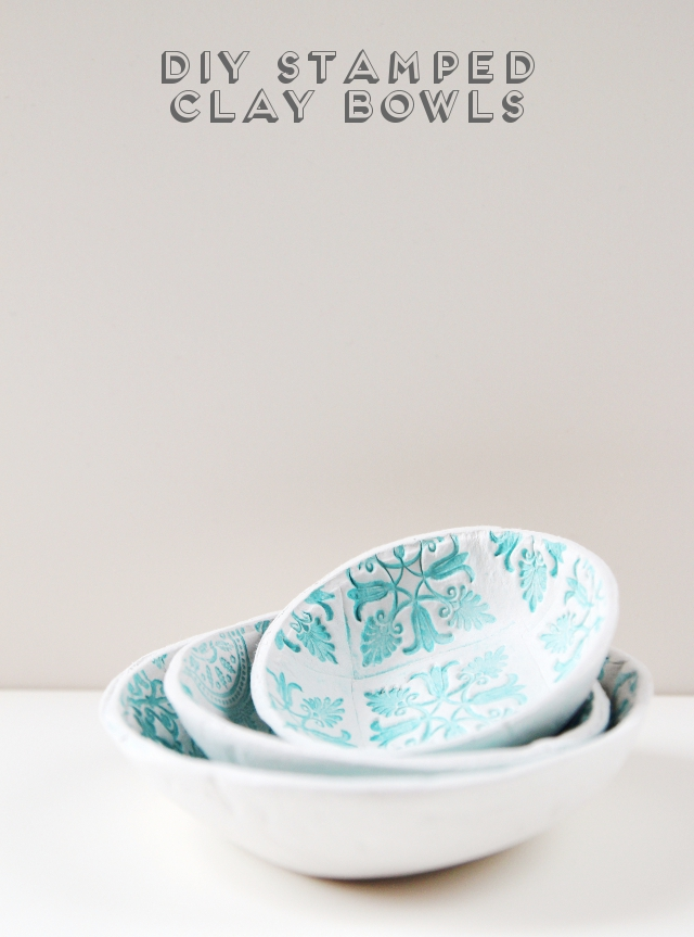 GatheringBeauty DIY ClayBowl
