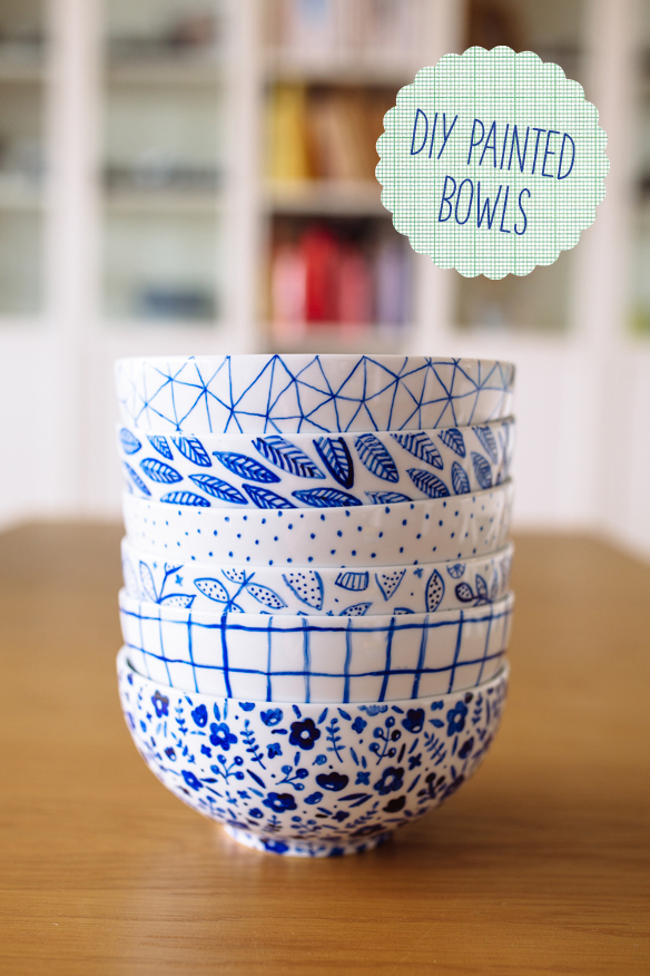 FellowFellow DIY Painted Bowls