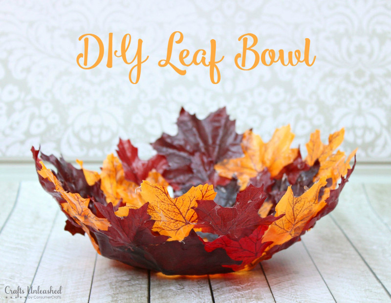Leaf Bowl Credit ConsumerCrafts