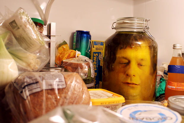 DIY Head In A Jar Credit Instructables