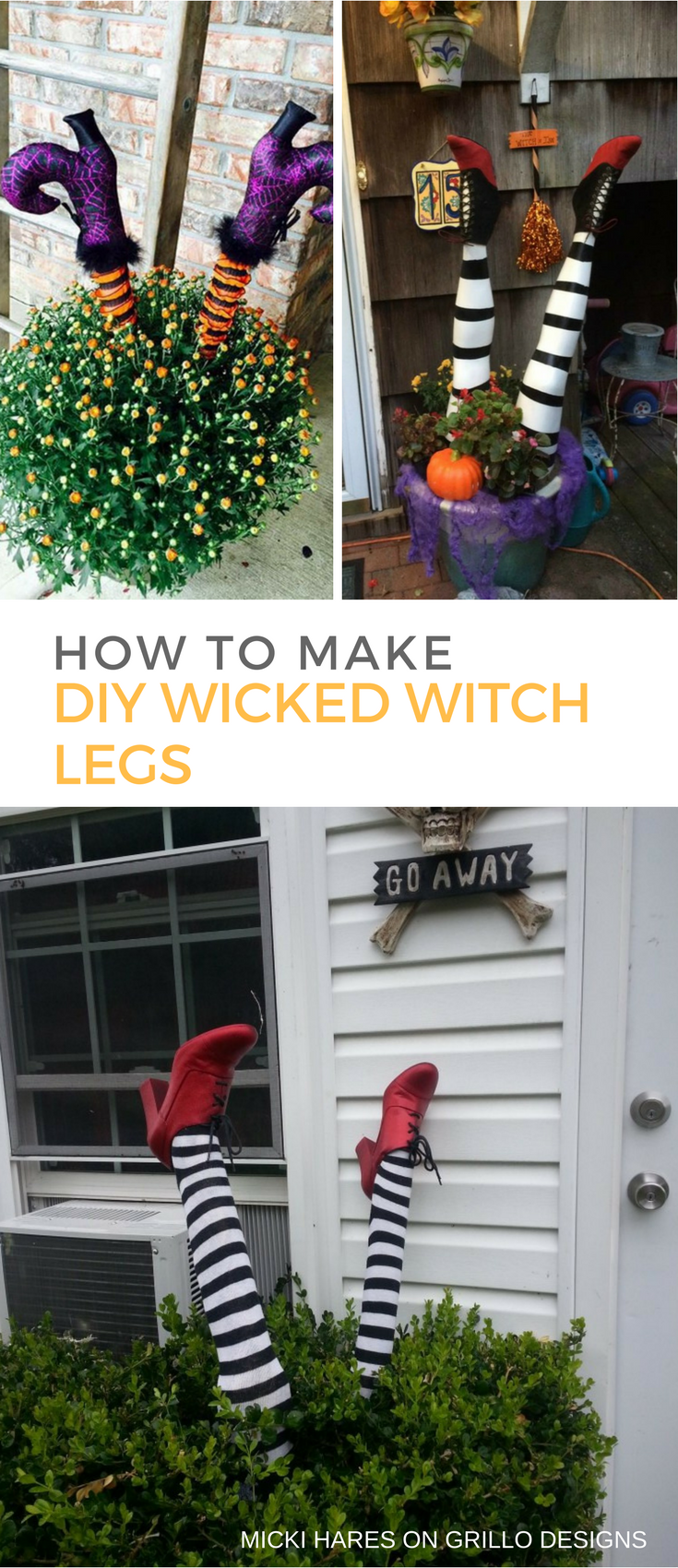 Wicked Witch Legs Credit Grillo Design