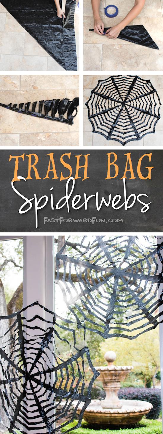 DIY Spider Webs Credit Listoic