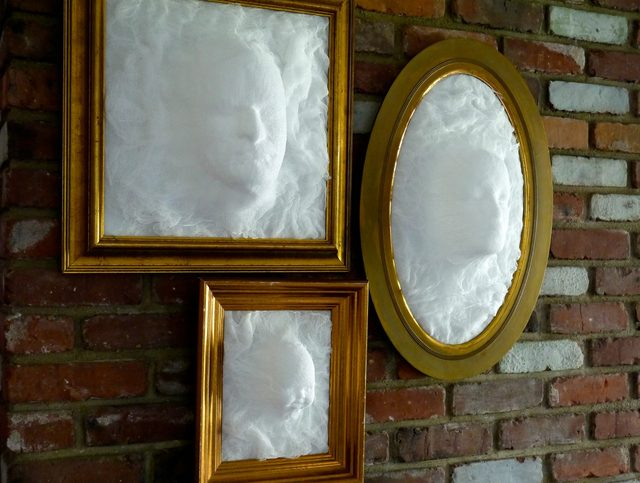 DIY Framed Ghosts Credit Ehow