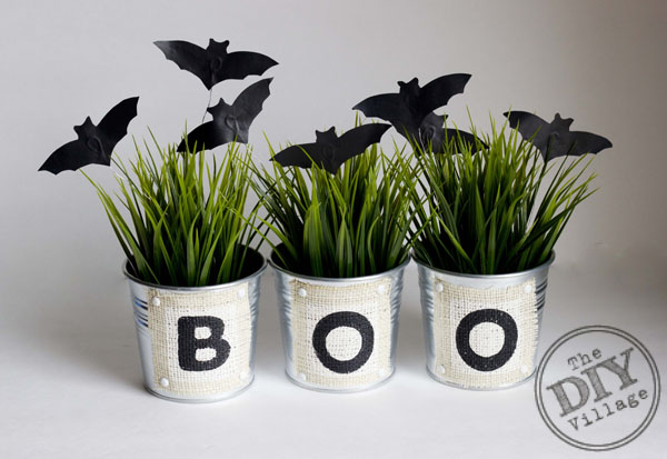 DIY Bat Planters Credit DIY Village