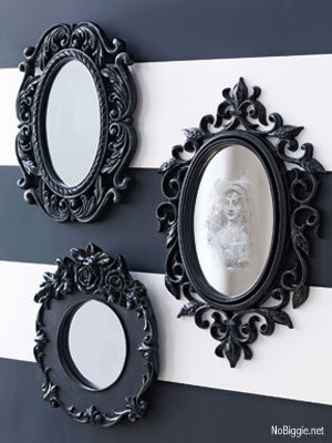 DIY Spooky Mirror Credit No Biggie