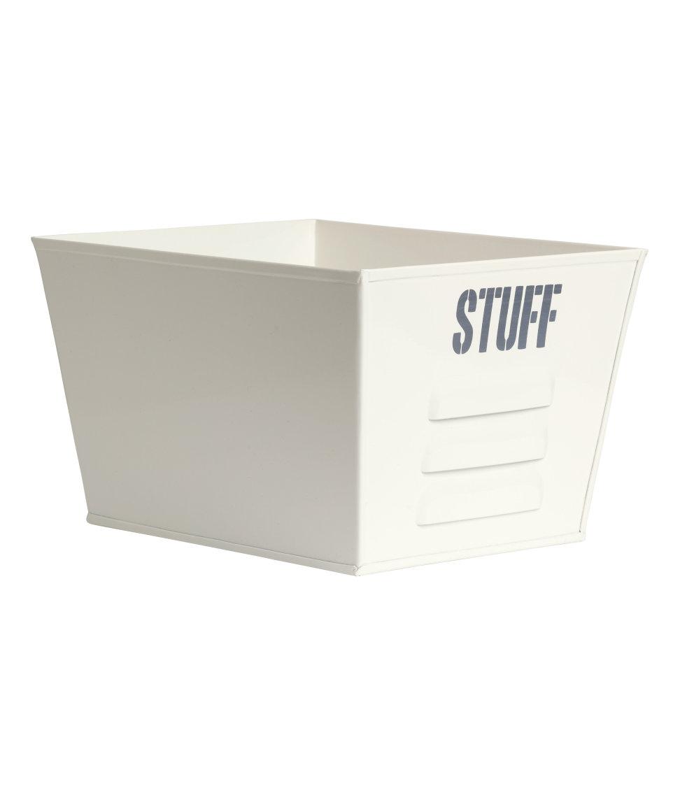Storage Bin $12.99