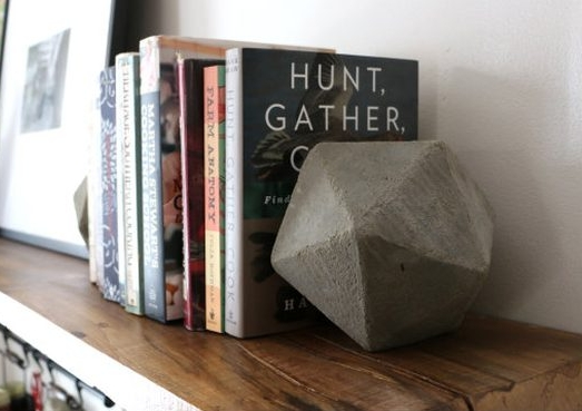 DIY Bookend By Ehow