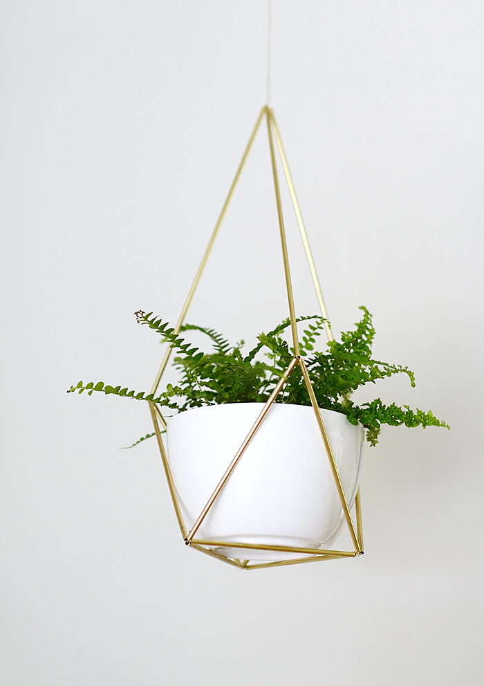 DIY Hanging Planter By Nalles House