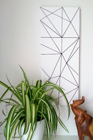 DIY Geometric Art By MakeDo&DIY