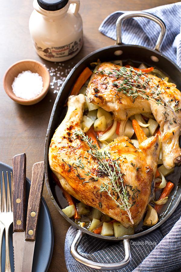 Maple Roasted Chicken