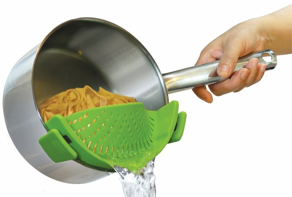 Clip-On Strainer Fits All Pots $7.05