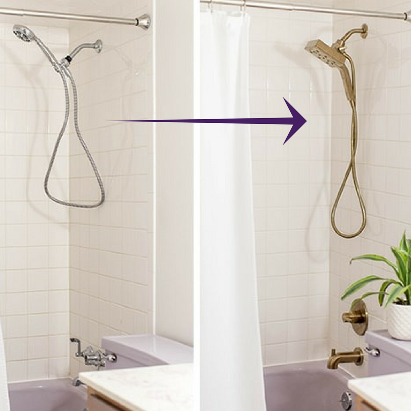 Replacement Shower Head Makes Dramatic Difference