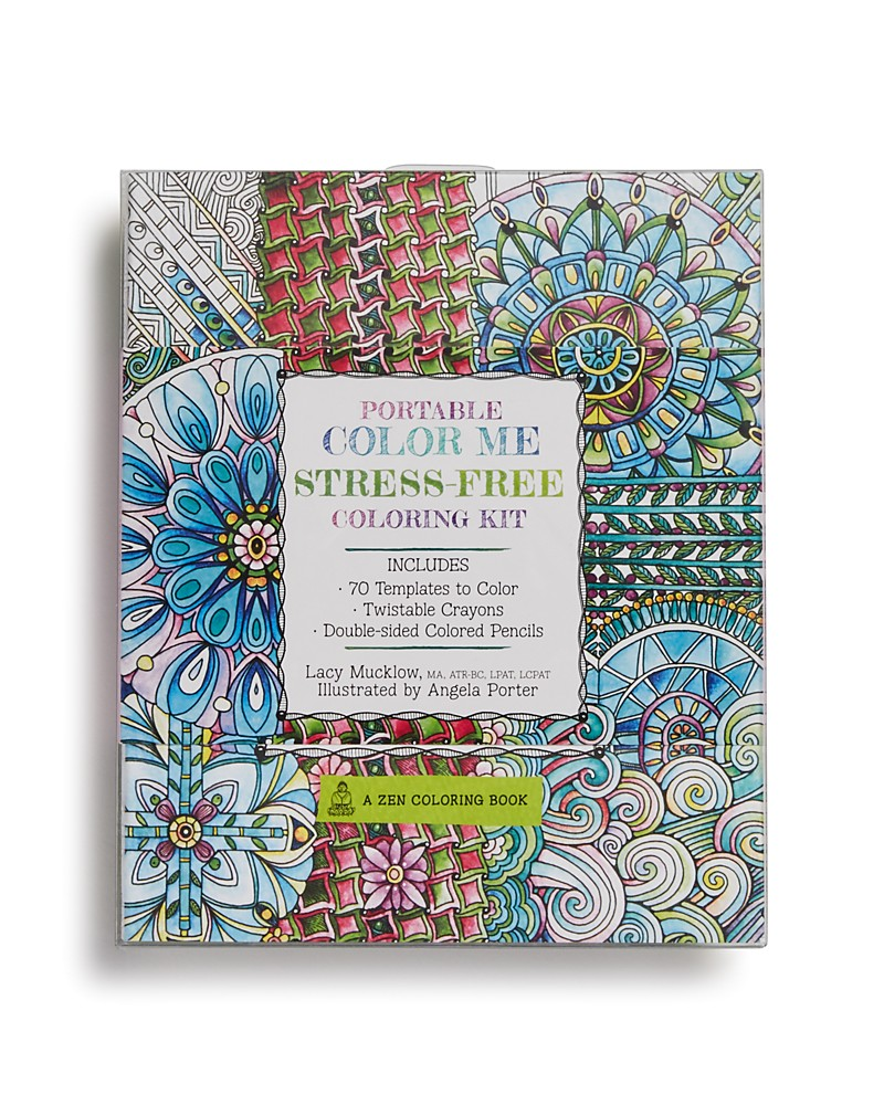 $16.00 Stress-Free Coloring Book