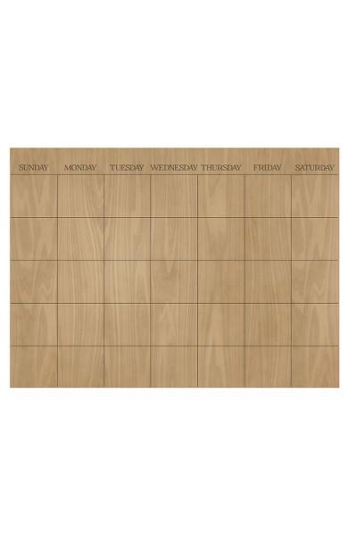 $10.33 Dry Erase Calendar