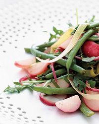 Warm Summer Vegetable Salad with Brown Butter Dressing -