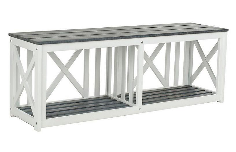 $255.00 Bench & Storage