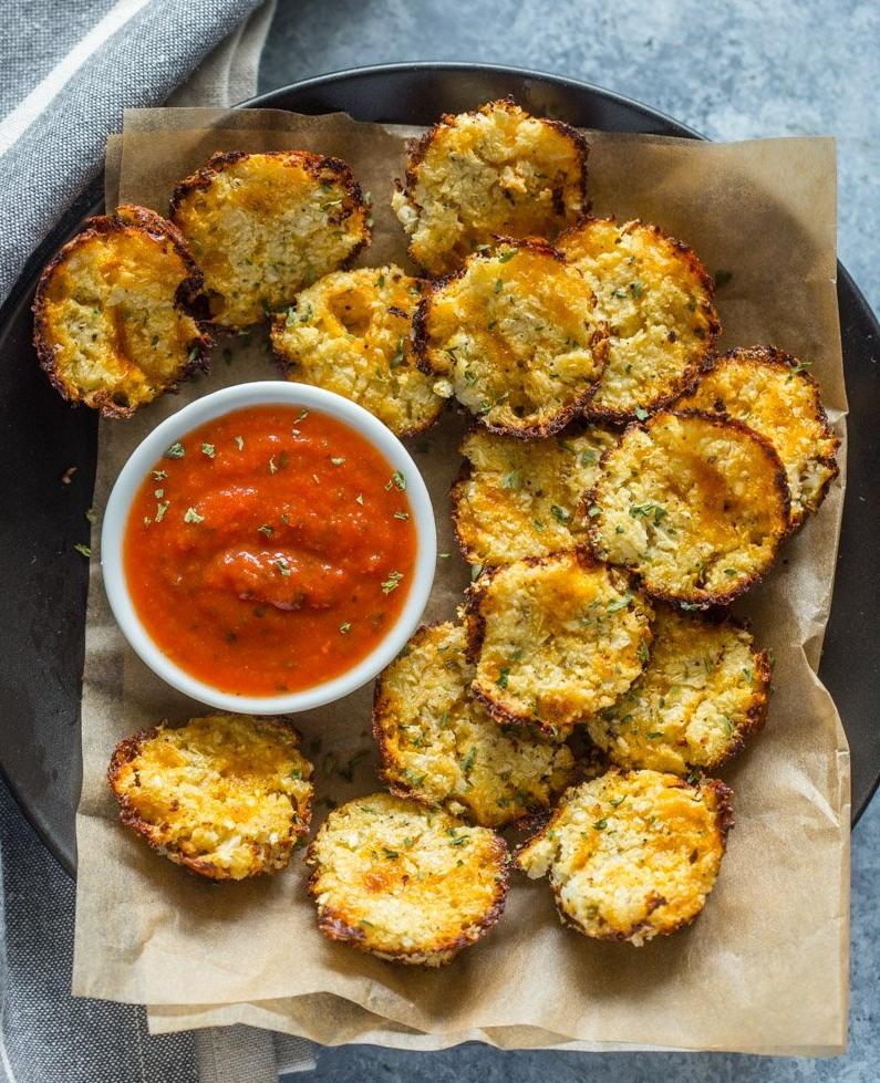 Baked Cheddar Cauliflower  -