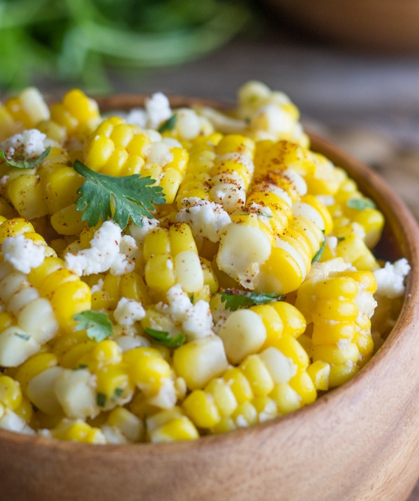 Chili Lime Sweet Corn Salad -