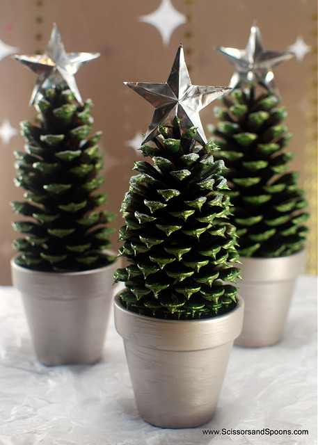 DIY Mini Trees -