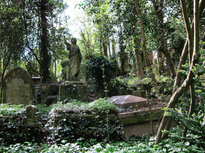 Highgate Cemetery  Greater London, England