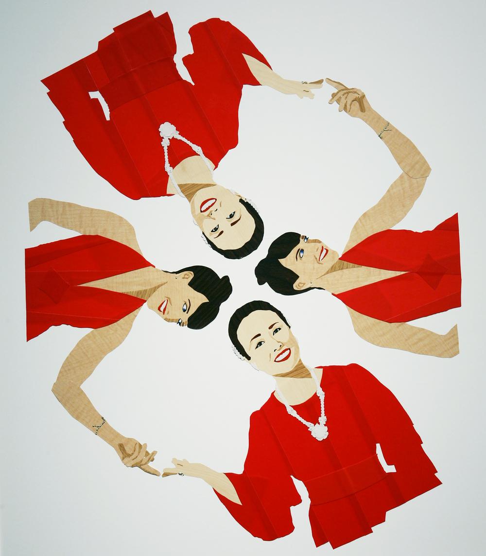 Hanagasa Dochu, for Hibari Misora  2007