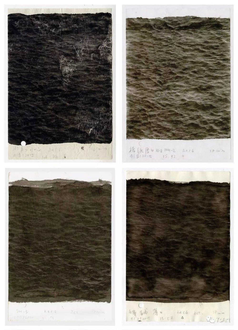 刘呗宁, Chants ,10.5x15cm/张 共50张,纸本 铂金印相法,2015. ©2017 刘呗宁