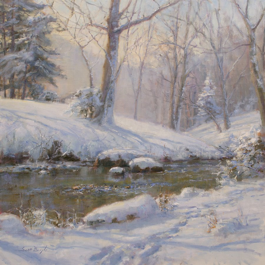 """Bolen's Creek Snow"""