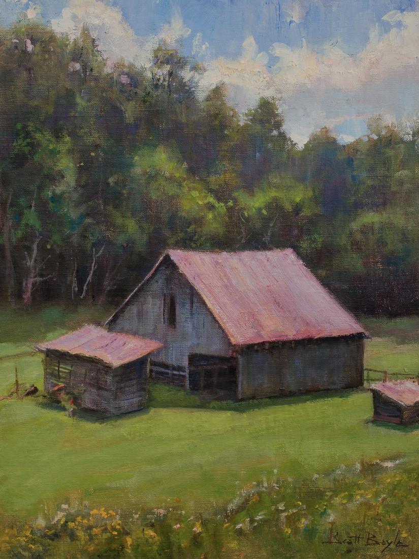 """Miller Barn Sunshine"""