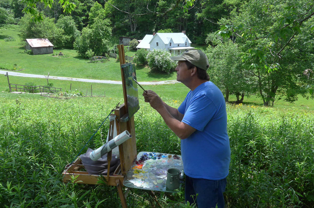 Craig Richards at Miller Farmstead