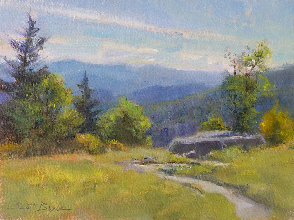 """Afternoon View on Roan"""