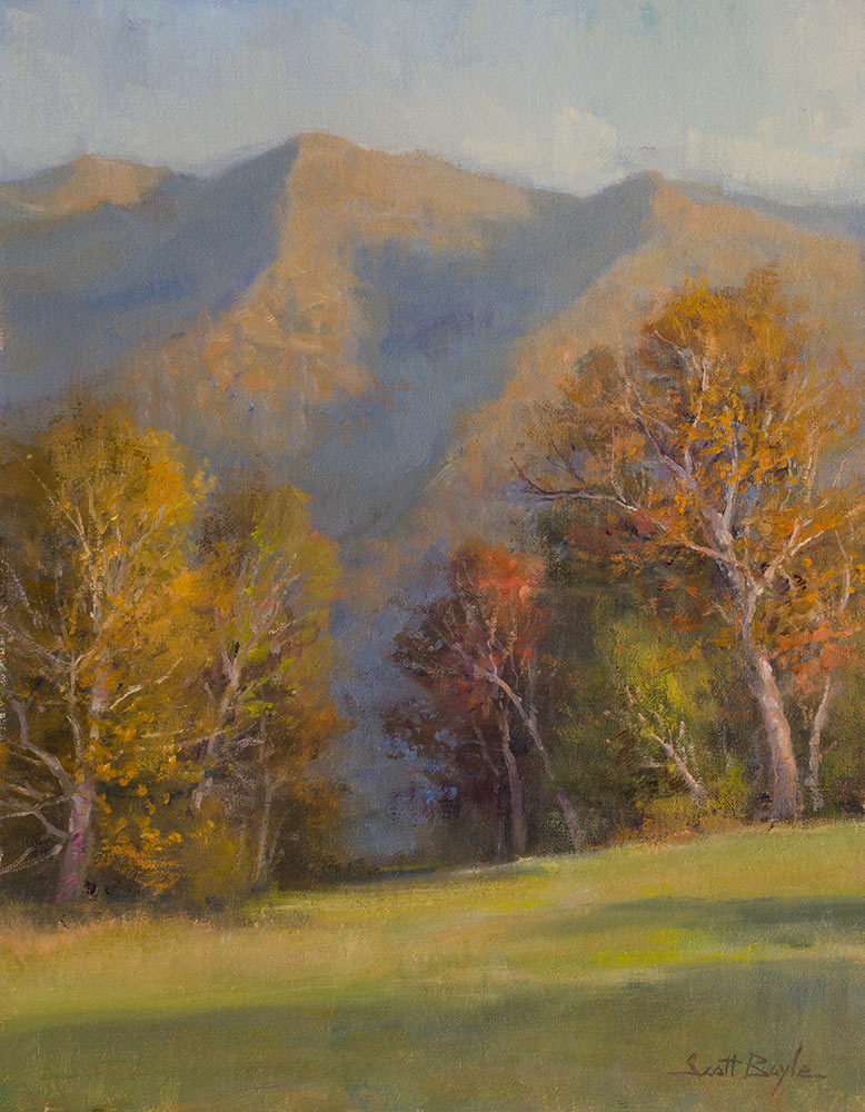 """Last Light on Pisgah"""