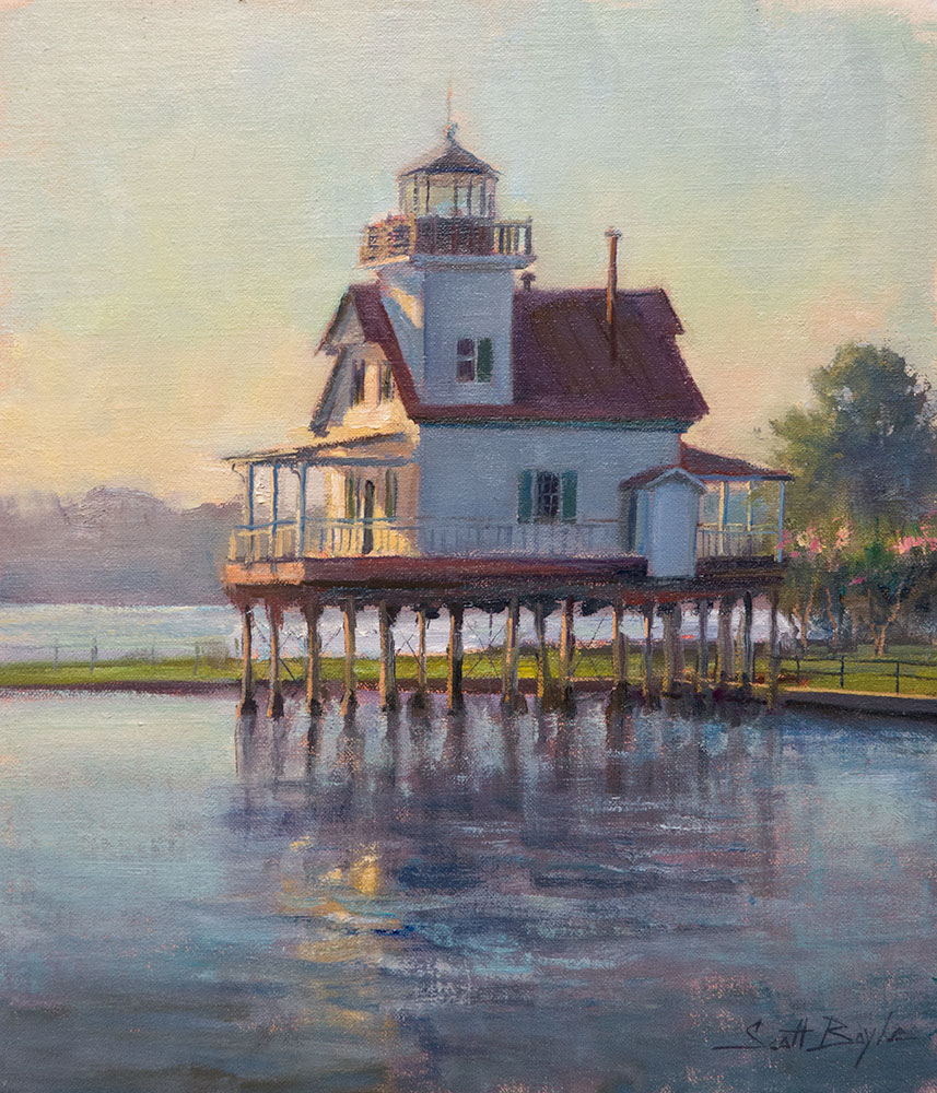 """Roanoke River Lighthouse"""
