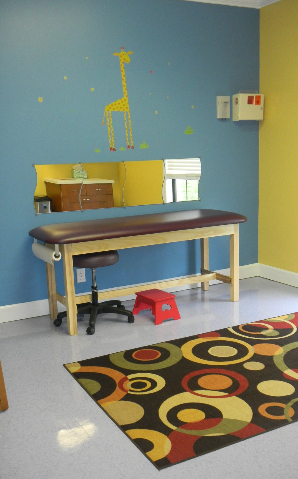 Smyrna children's waiting room