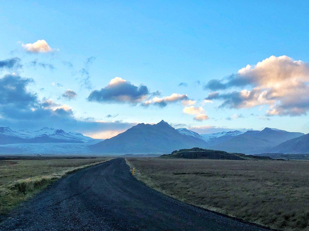 Drive to Haukafell