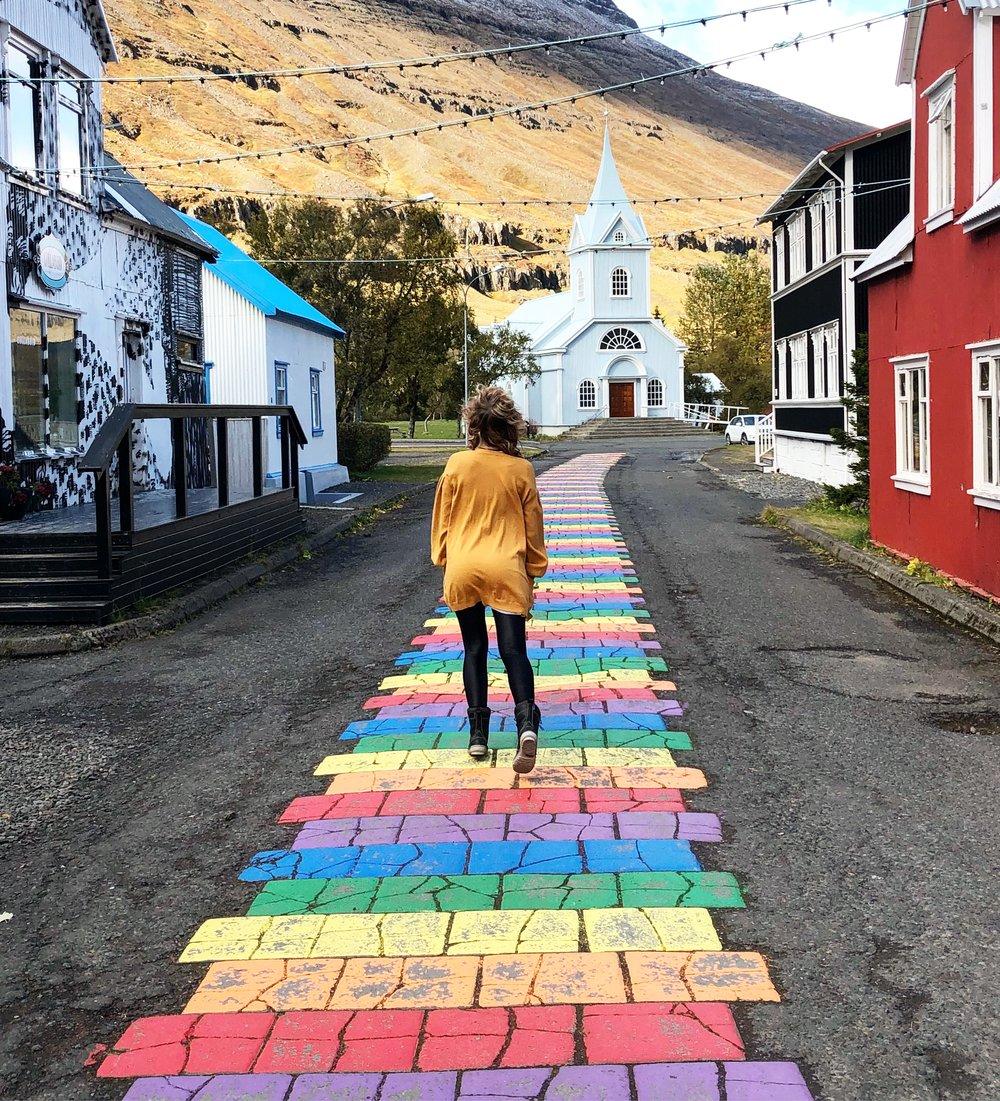 Blue Church in Seyðisfjörður