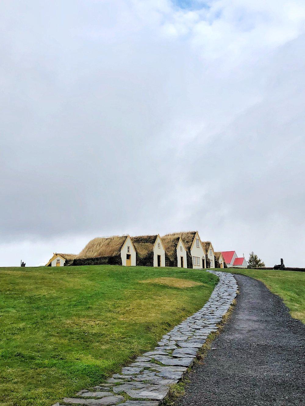 Glaumbær turf houses